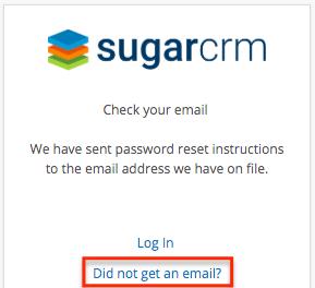 PortalUG 没有得到电子邮件链接