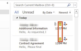 确定存档电子邮件MailView类别2016